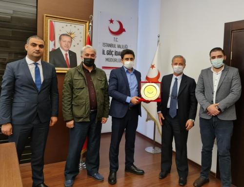 زيارة إدارة الهجرة في إسطنبول