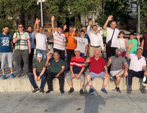 نشاط ترفيهي ورياضي مميز لتجمع المهندسين السوريين.