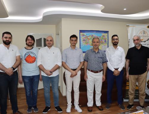 تجمع المهندسين السوريين يستقبل ممثلي اتحاد طلبة سوريا في تركيا (تقرير مصور)