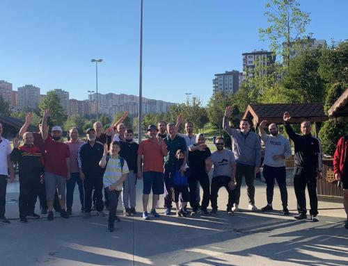 المسير الـ16 لتجمع المهندسين السوريين في تركيا