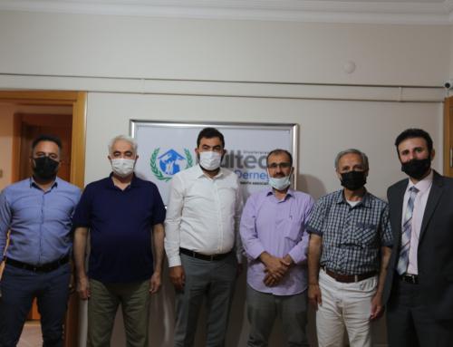 زيارة مثمرة لتجمع المهندسين السوريين وبعض الجمعيات الأخرى لجمعية اللاجئ الدولية.
